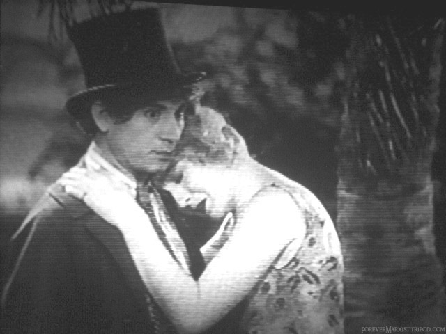 instead, she cries on his shoulder. leaving harpo to stare blankly in thought or remorse.